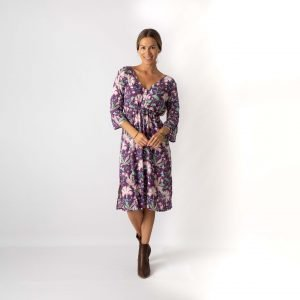 berry_mid_length_empire_dress