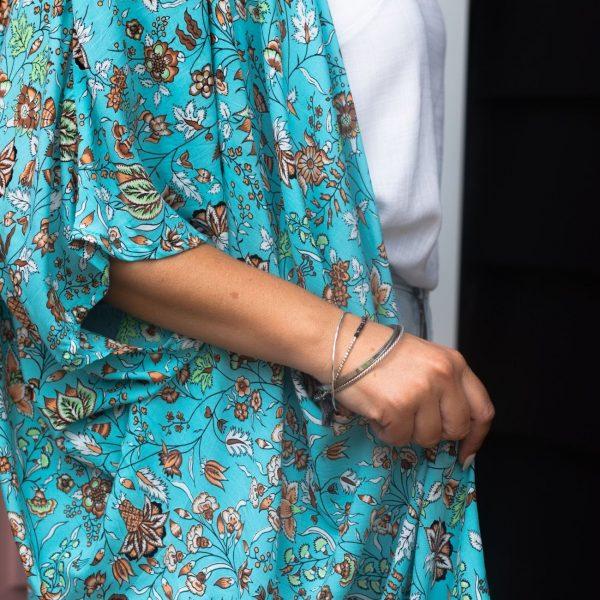 Kimocape - Royal Turquoise