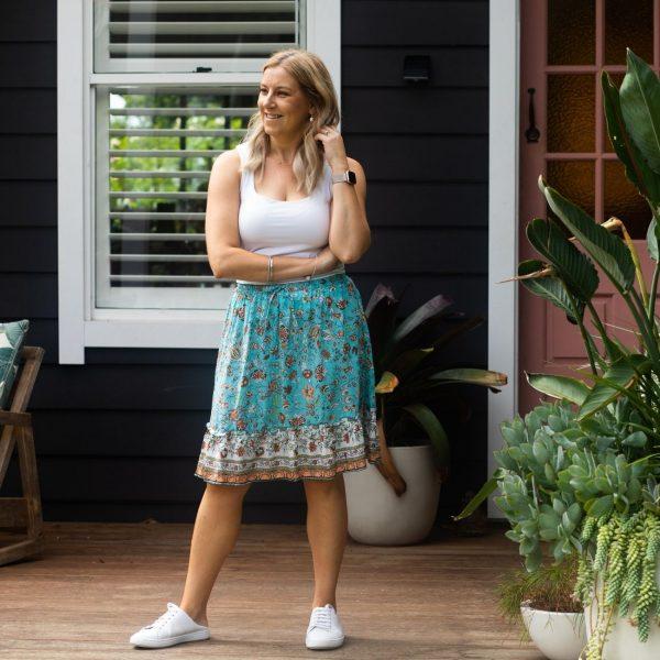 Gypsy Skirt - Turquoise