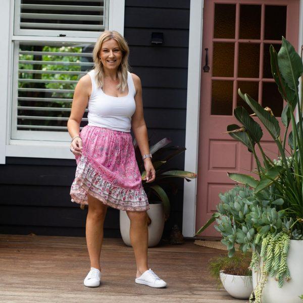 Gypsy Skirt - Pink